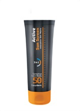 ACTIVE SUN SCREEN SENSITIVE FACE - BODY SPF 50
